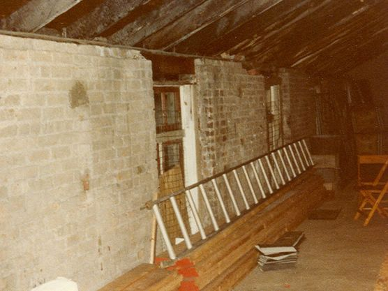 Renovations on Second Floor 1978